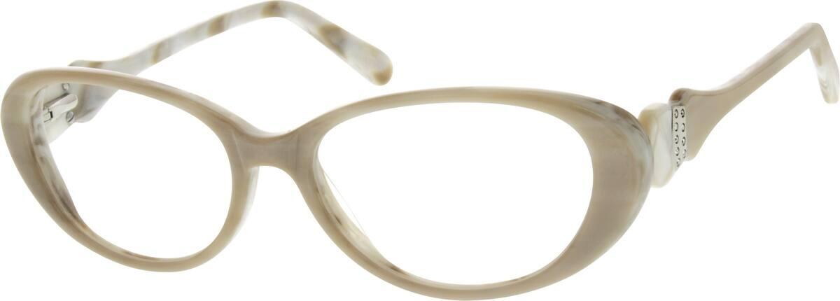 WomenFull RimAcetate/PlasticEyeglasses #304824