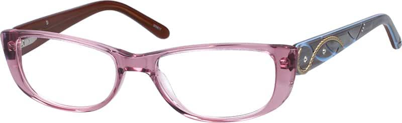 WomenFull RimAcetate/PlasticEyeglasses #305617