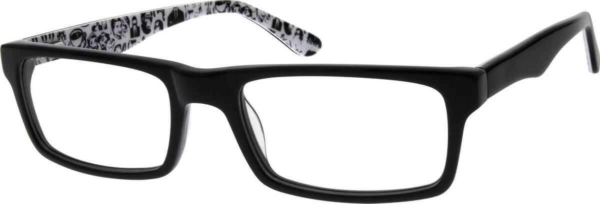 UnisexFull RimAcetate/PlasticEyeglasses #305921