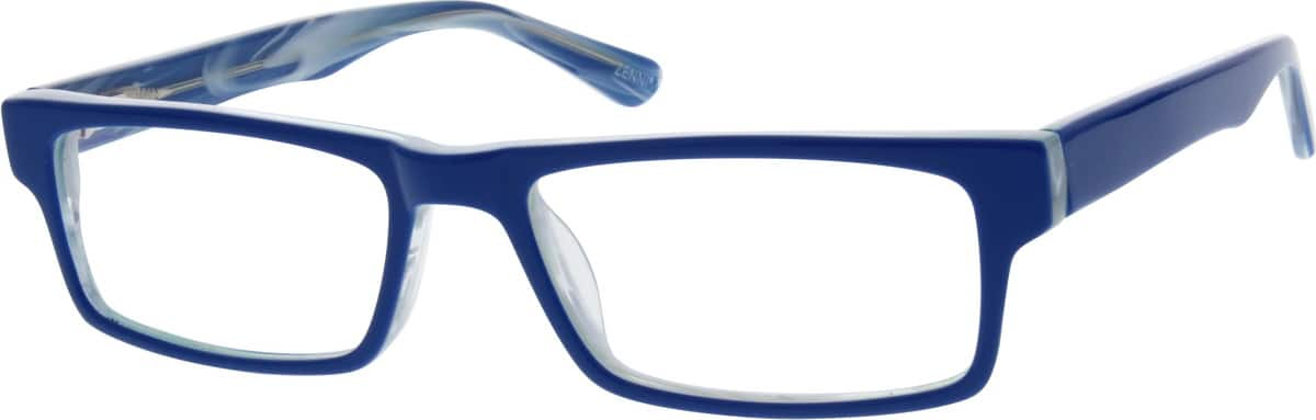 Blue Acetate Full-Rim Frame With Spring Hinges #3065 ...