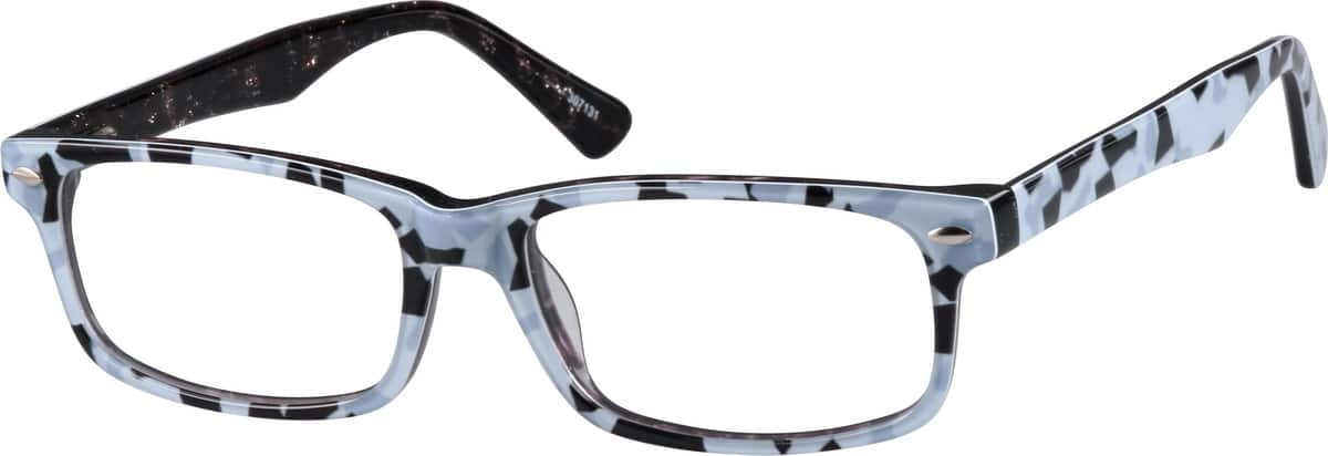 Pattern Acetate Full-Rim Frame With Spring Hinges #3071 ...