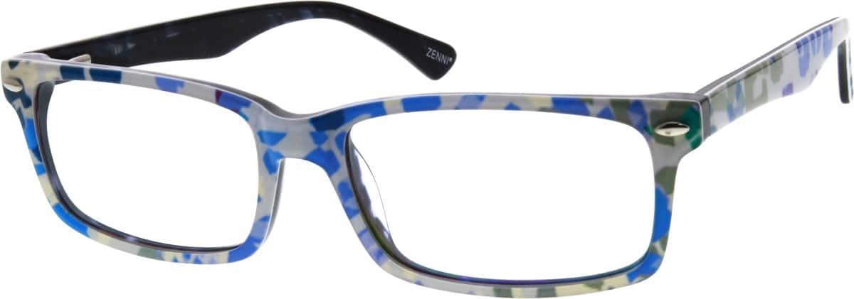 UnisexFull RimAcetate/PlasticEyeglasses #307131