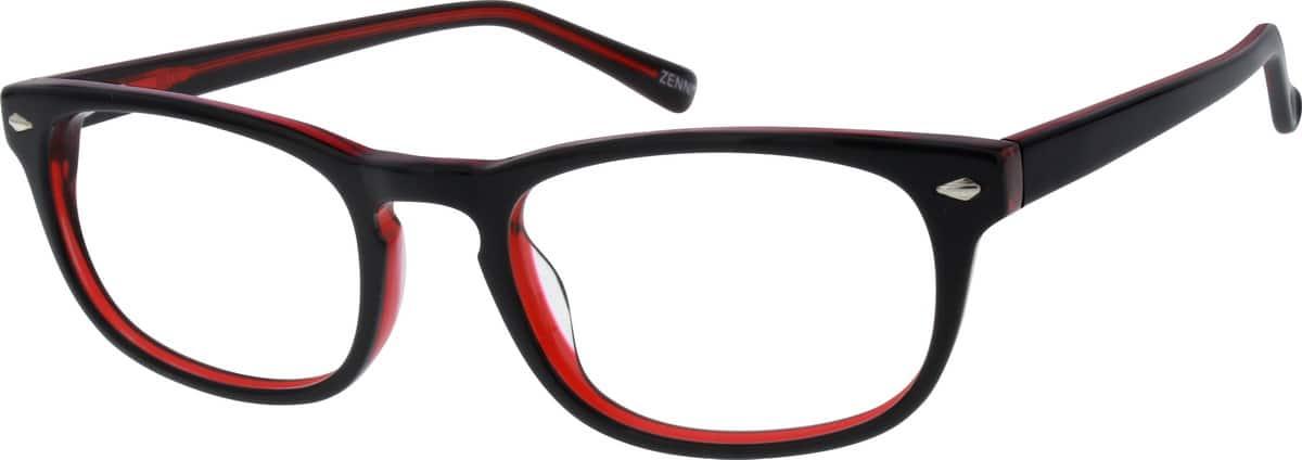 UnisexFull RimAcetate/PlasticEyeglasses #307218
