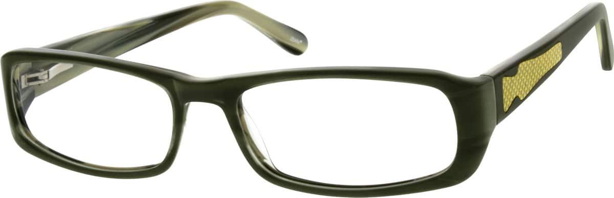 MenFull RimAcetate/PlasticEyeglasses #307724
