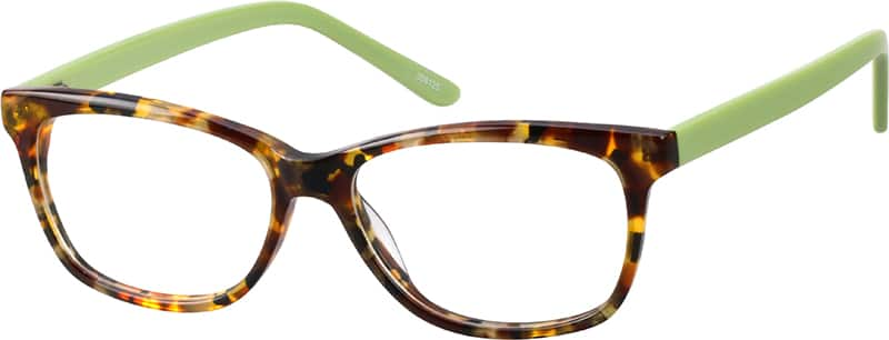 Women Full Rim Acetate/Plastic Eyeglasses #308127