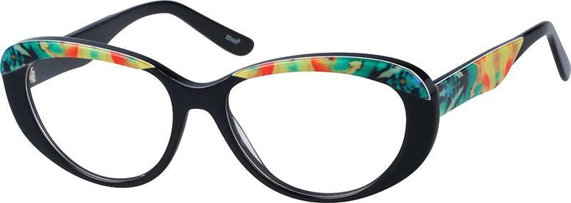 WomenFull RimAcetate/PlasticEyeglasses #308235