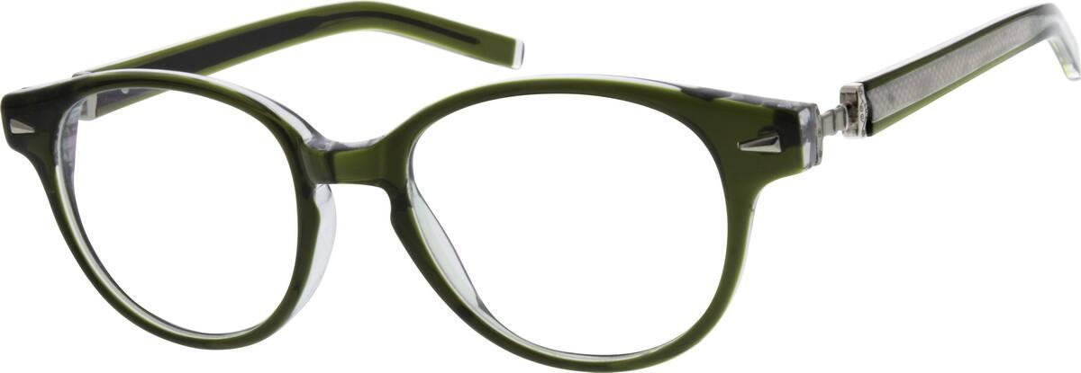 WomenFull RimAcetate/PlasticEyeglasses #308424
