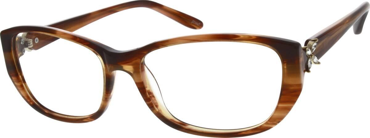 WomenFull RimAcetate/PlasticEyeglasses #308817