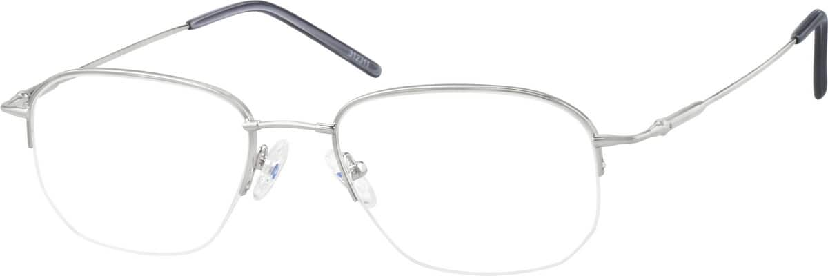 312311-bendable-memory-titanium-half-rim-frame