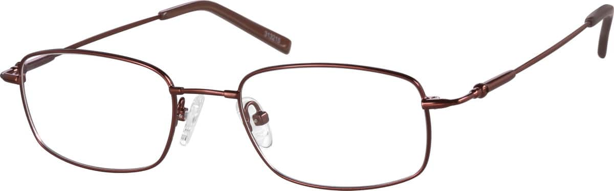 Men Full Rim Memory Titanium Eyeglasses #313215