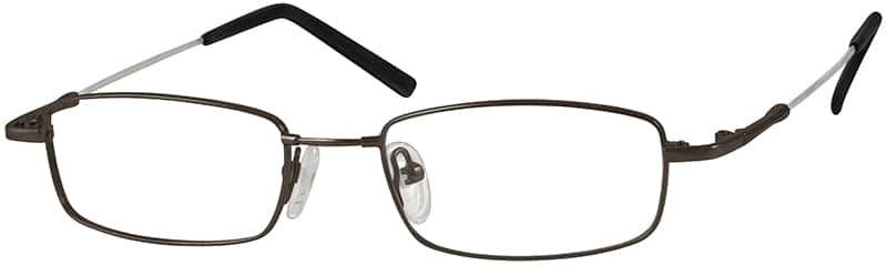 Men Full Rim Memory Titanium Eyeglasses #314211