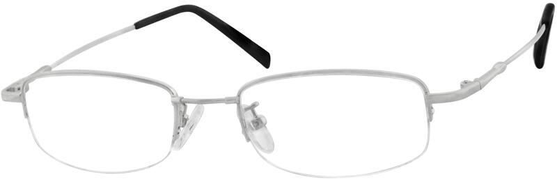 MenHalf RimMemory TitaniumEyeglasses #314411