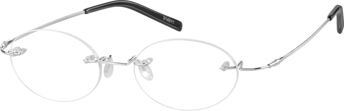 Rimless Flexible (Memory) Titanium(Same Appearance as Frame #8049)