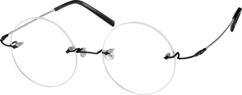 UnisexRimlessMemory TitaniumEyeglasses #314911