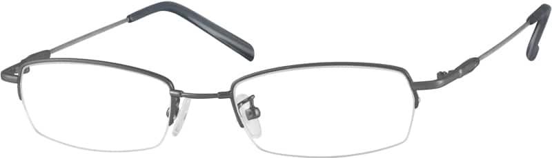 MenHalf RimMemory TitaniumEyeglasses #315711