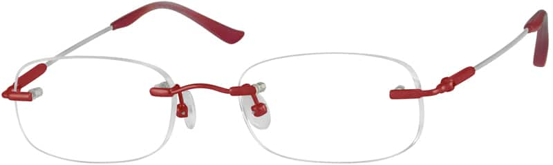 WomenRimlessMemory TitaniumEyeglasses #315811