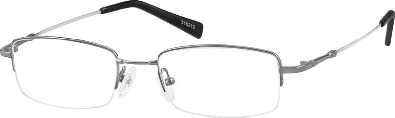 MenHalf RimMemory TitaniumEyeglasses #316211