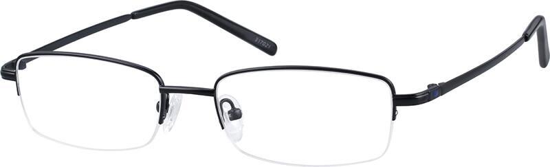 MenHalf RimMemory TitaniumEyeglasses #317021
