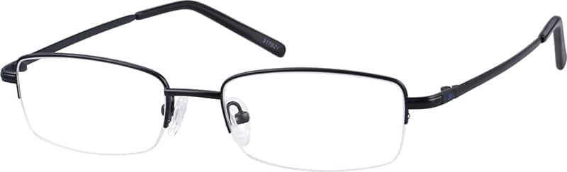 Bendable (Memory) Titanium Half Rim Frame (Same Appearance as Frame #9170)