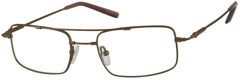 Men Full Rim Memory Titanium Eyeglasses #317112
