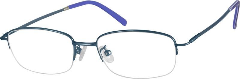 MenHalf RimMemory TitaniumEyeglasses #318712