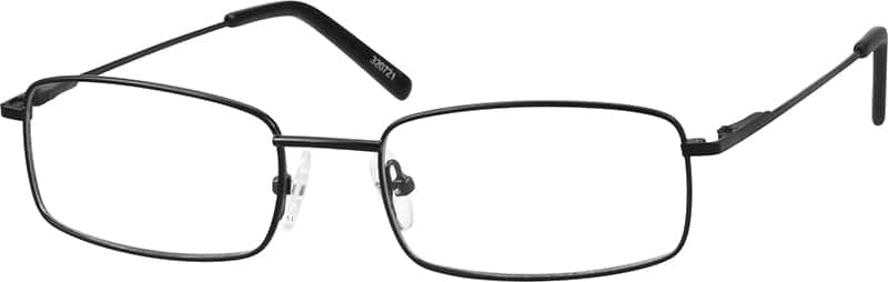 Stainless Steel Rectangular Eyeglasses