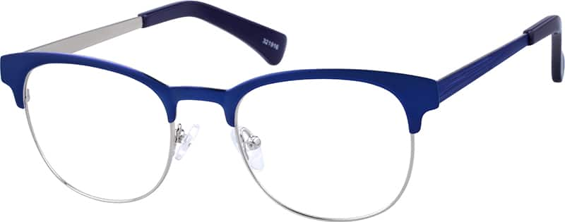 Unisex Full Rim Stainless Steel Eyeglasses #321916