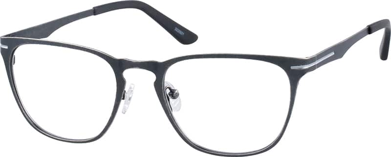 UnisexFull RimStainless SteelEyeglasses #322914