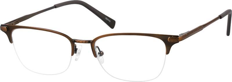 halfrim-stainless-steel-browline-eyeglass-frames-323415