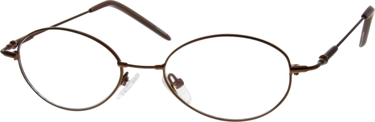 WomenFull RimStainless SteelEyeglasses #323512