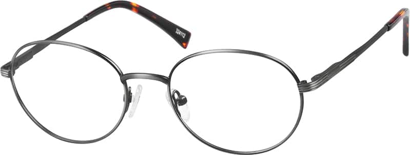 Unisex Full Rim Stainless Steel Eyeglasses #324111