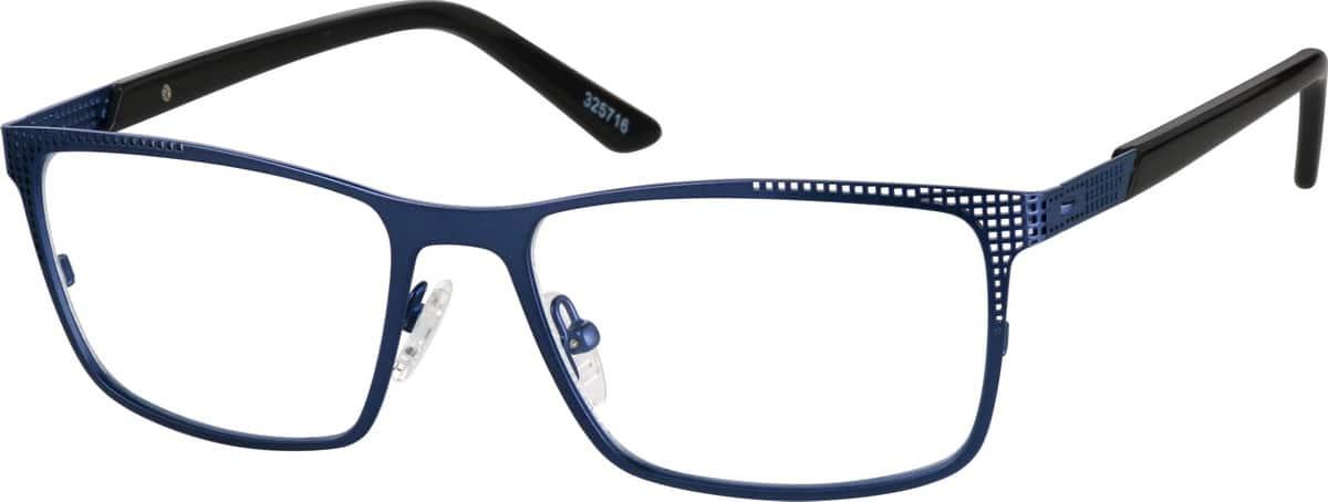 UnisexFull RimStainless SteelEyeglasses #325716