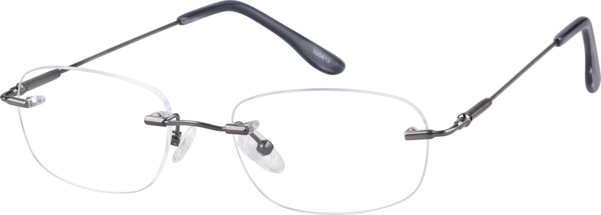 Women Rimless Stainless Steel Eyeglasses #325811