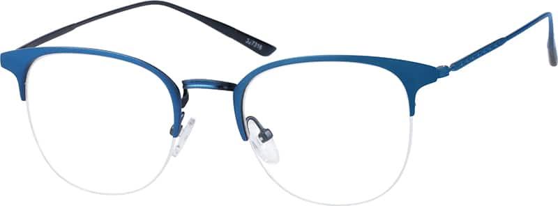 halfrim-stainless-steel-browline-eyeglass-frames-327316
