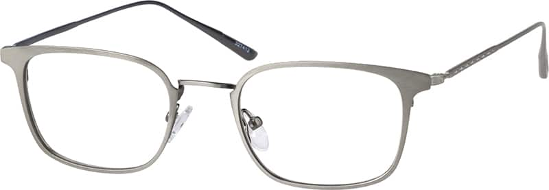 UnisexFull RimStainless SteelEyeglasses #327416