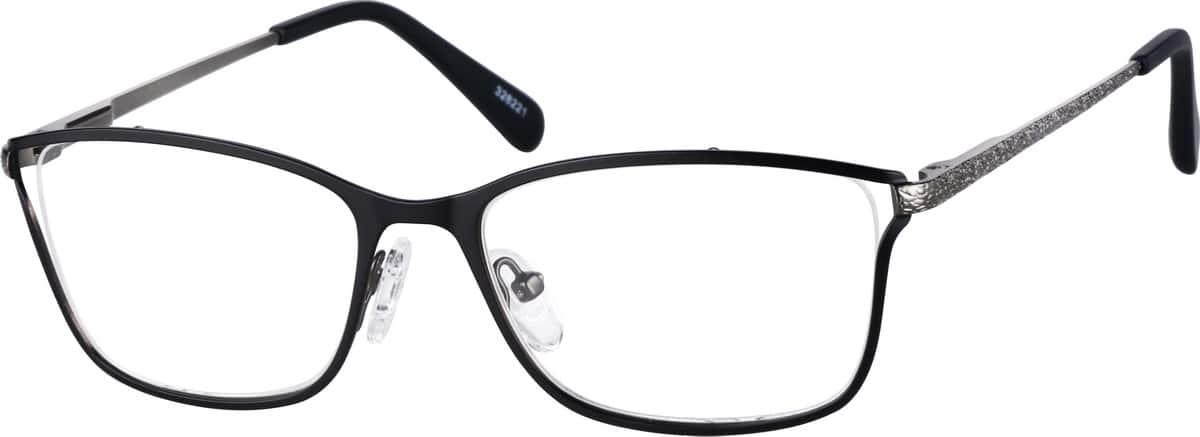 WomenFull RimStainless SteelEyeglasses #328221