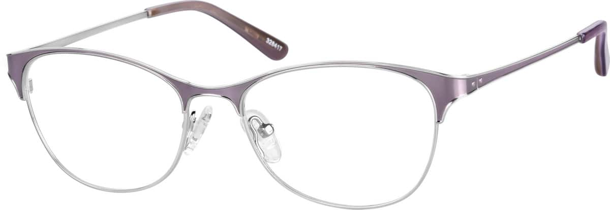 womens-stainless-steel-cat-eye-eyeglass-frames-328417
