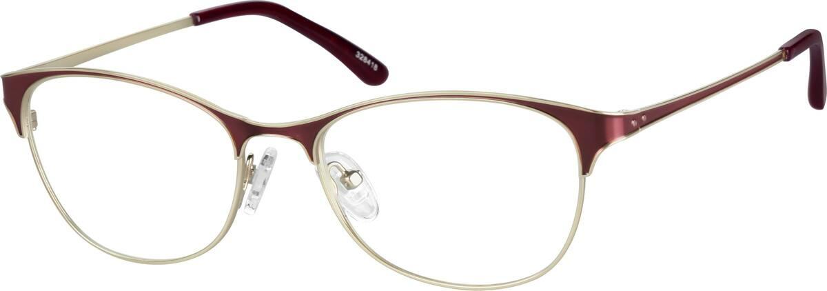 WomenFull RimStainless SteelEyeglasses #328418