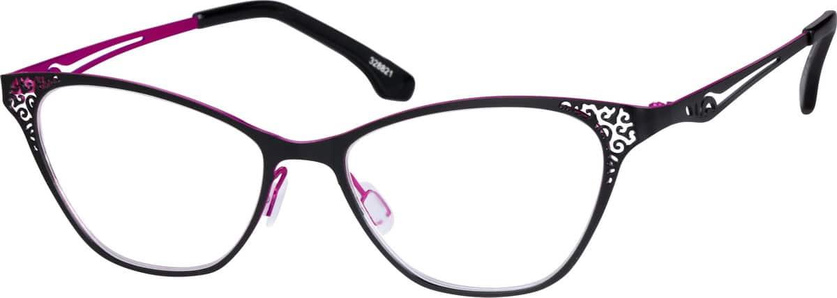 WomenFull RimStainless SteelEyeglasses #328816