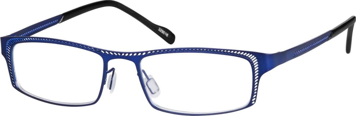 MenFull RimStainless SteelEyeglasses #329016