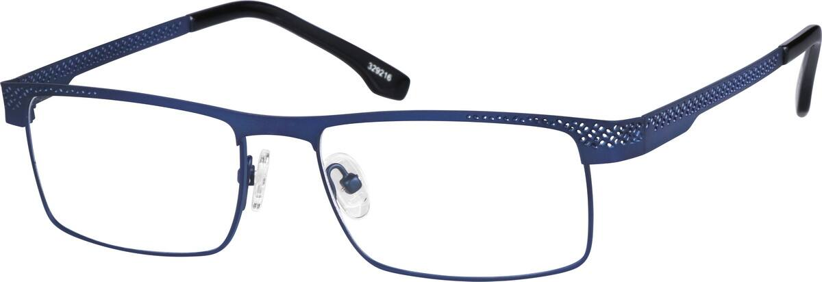 Men Full Rim Stainless Steel Eyeglasses #329215