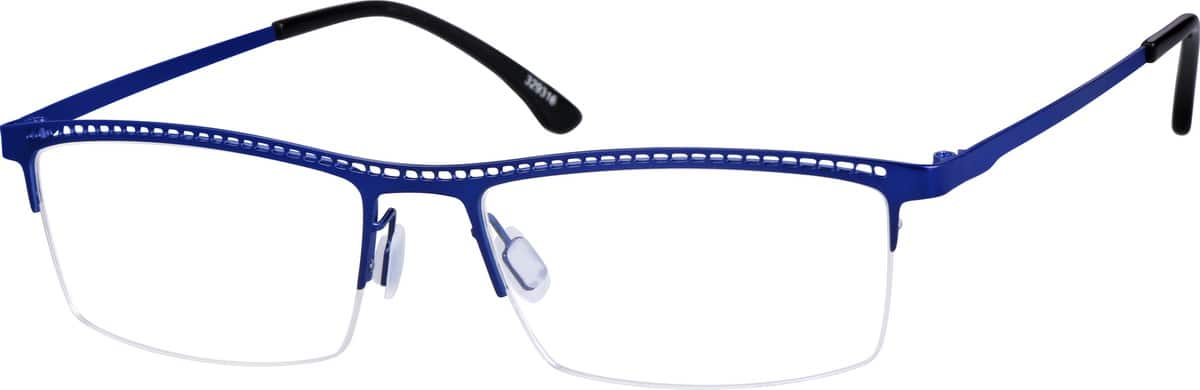 mens-halfrim-stainless-steel-rectangle-eyeglass-frames-329316