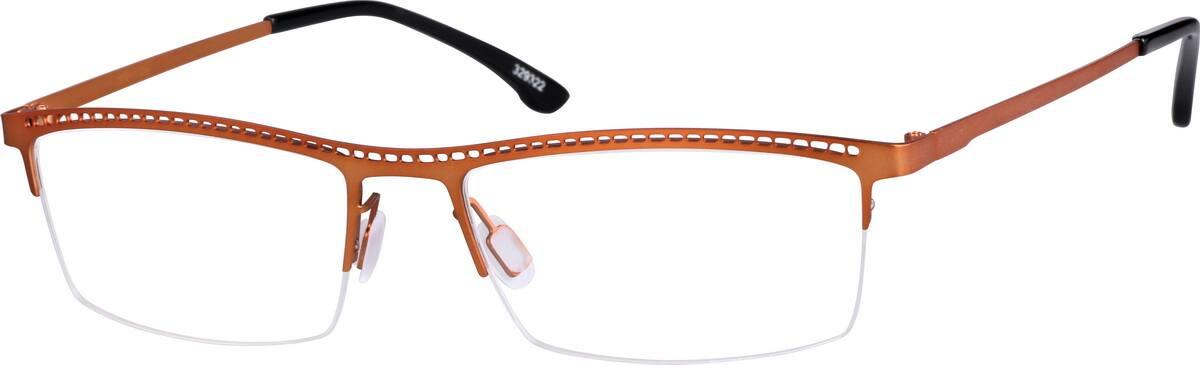 mens-halfrim-stainless-steel-rectangle-eyeglass-frames-329322
