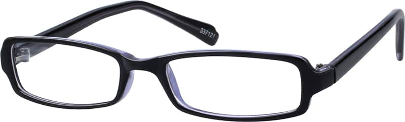 Stylish Plastic Full-Rim Frame (Same Appearance as Frame #8071)