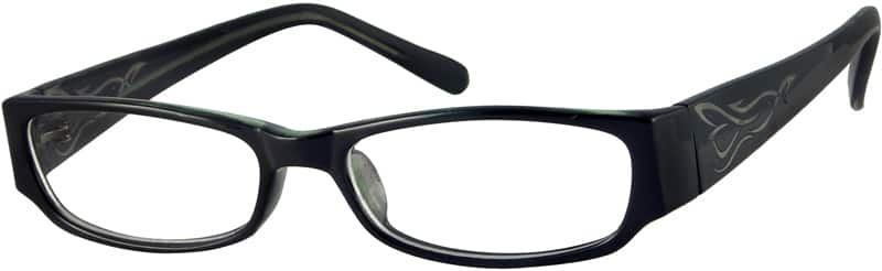 Men Full Rim Acetate/Plastic Eyeglasses #338221