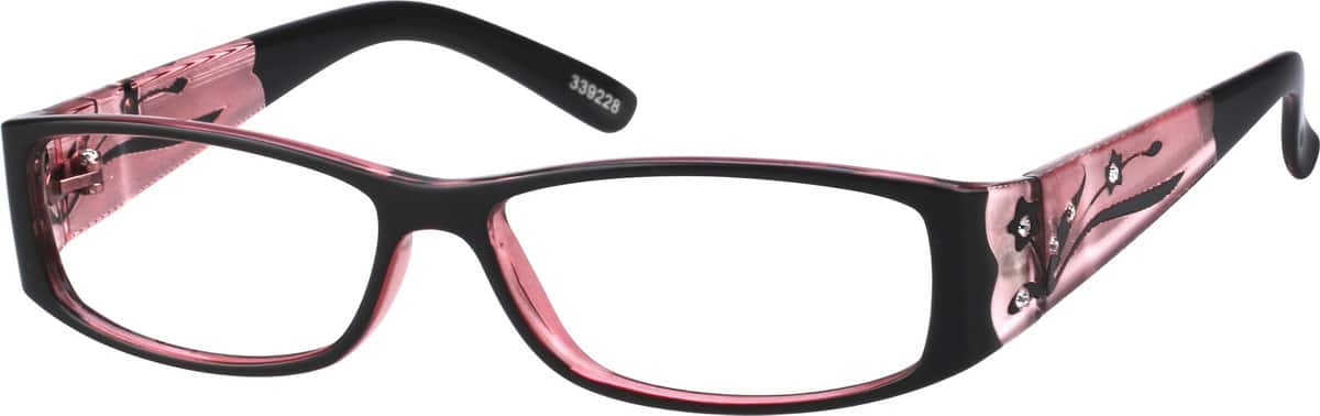 women full rim acetateplastic eyeglasses 339228