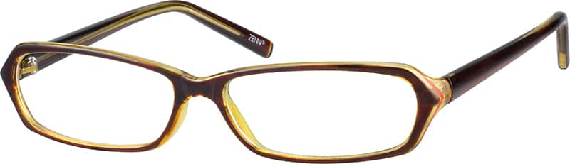 Plastic Fashion Full-Rim Frame (Same Appearance as Frame #8395)