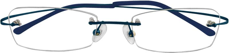 Unisex Rimless Stainless Steel Eyeglasses #362021
