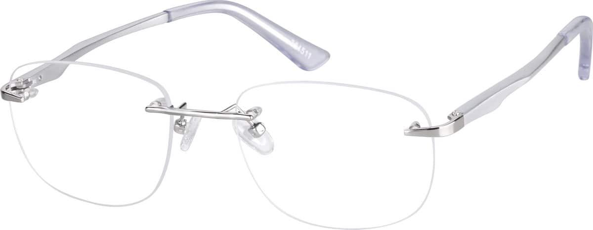 UnisexRimlessAluminum AlloyEyeglasses #364511