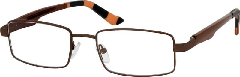 Men Full Rim Aluminum Alloy Eyeglasses #365015